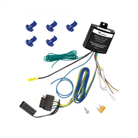 ModuLiteHD Protector w/Integrated Circuit & Overload Protection & 5-Flat Connector for Backup Light or Surge Brake Lockout Circuit