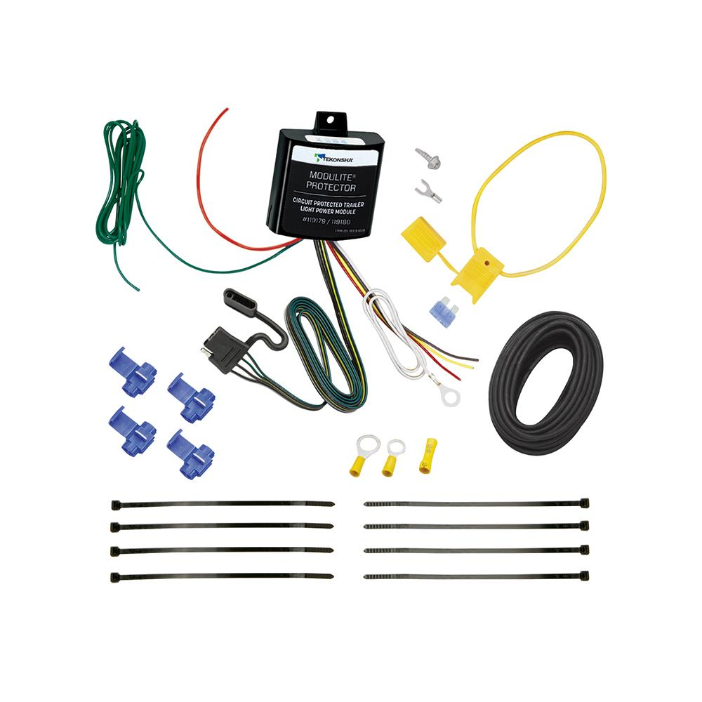 trailer wiring for 07 11 nissan versa light kit harness kit plug Trailer Light Wiring Harness Diagram
