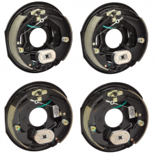 4-Pack 12 inch x 2 inch Electric Trailer Brakes Self Adjusting 5200 to 7000 lb (2) Right and (2) Left Side For Dexter Alko Lippert Rockwell and Quality Axles 1 Year Warranty