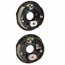 A Pair of 10 inch x 2-1/4in Electric Trailer Brakes Self Adjusting 3500 lb (1) Right and (1) Left Side For Dexter Alko Lippert Rockwell and Quality Axles 1 Year Warranty