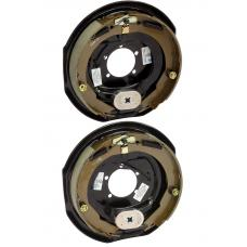 A Pair of 12 inch x 2 inch Electric Trailer Brakes 5200 to 7000 lb Pair (1) Right and (1) Left Side For Dexter Alko Lippert Rockwell and Quality Axles 1 Year Warranty