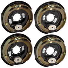 4-Pack 12 inch x 2 inch Electric Trailer Brakes 5200 to 7000 lb (2) Right and (2) Left Side For Dexter Alko Lippert Rockwell and Quality Axles 1 Year Warranty