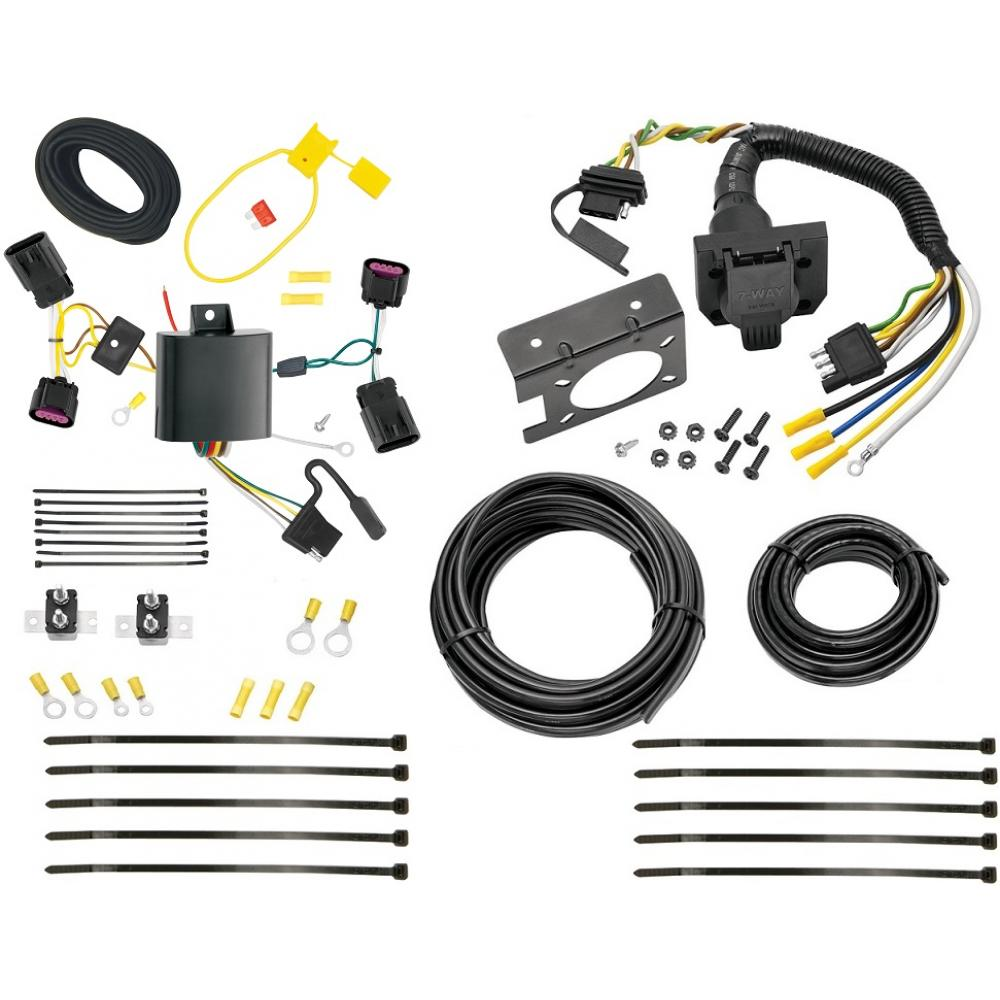 cadillac wiring parts trailer wiring harness kit for 13 20 cadillac ats all styles  trailer wiring harness kit for 13 20