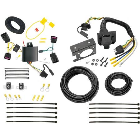Trailer Wiring Harness Kit For 13-19 Cadillac ATS All Styles