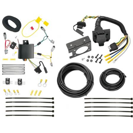 13-15 Honda Accord w/LED Taillights Trailer Wiring Light Harness Plug Kit