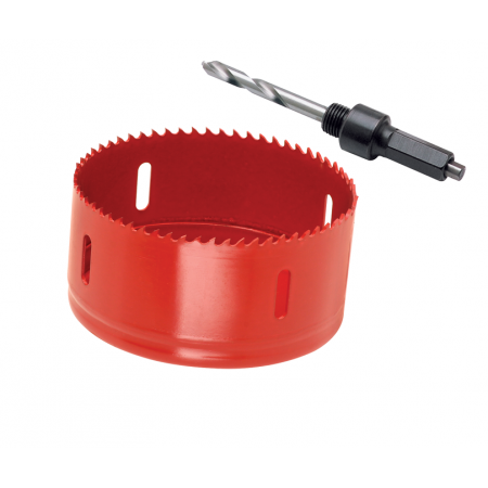 """Hole Saw Arbor with Pilot Drill Bit and 3-1/2"""" Hole Saw For Draw-Tite Underbed Gooseneck Hitches"""
