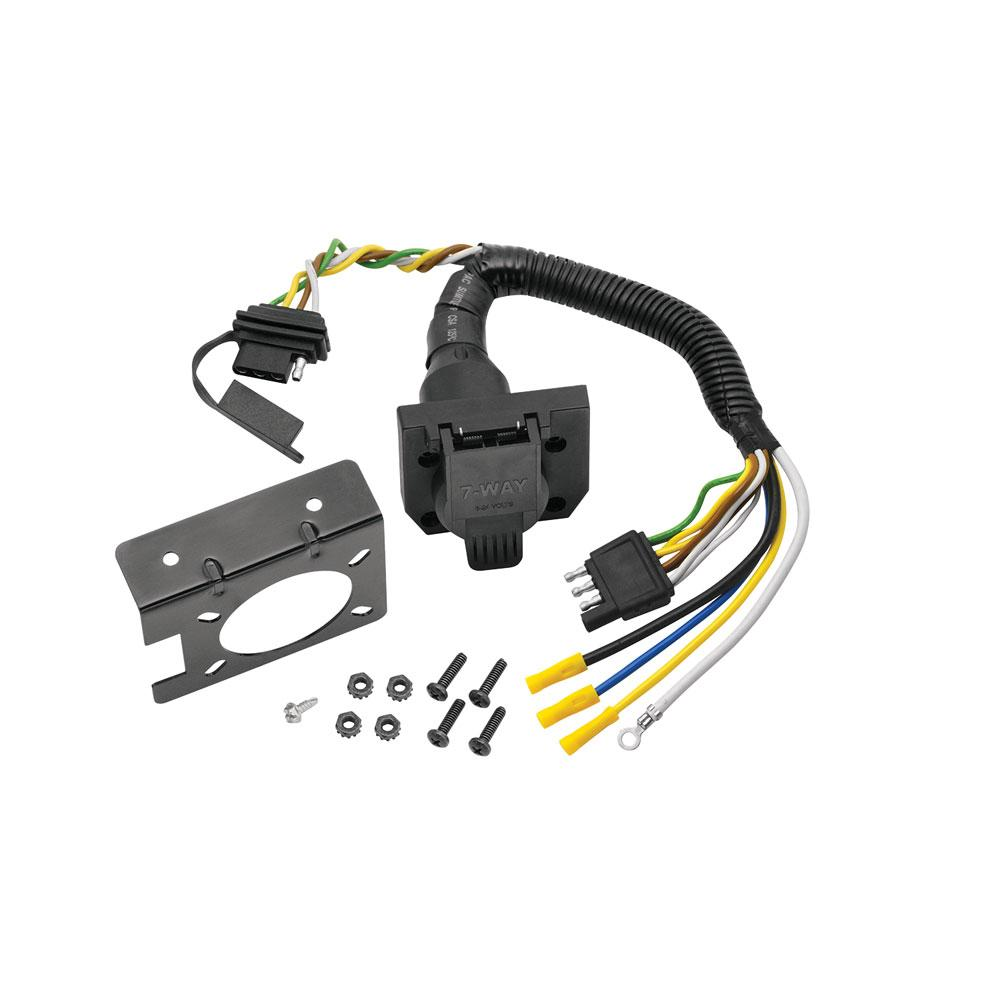 95 01 Ford Explorer 98 99 Ranger 7 Way Rv Trailer Wiring Kit Plug Prong Pin