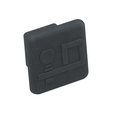 """Rubber Trailer Hitch Tow Plug Cover Fits 1-1/4"""" Receiver"""