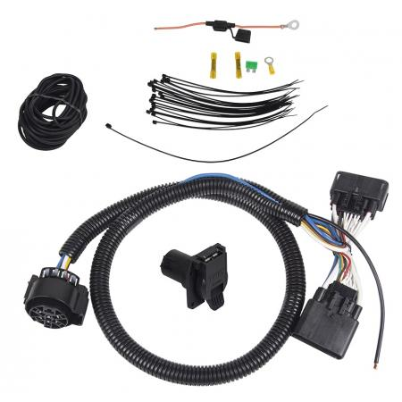 7-Way Trailer Wiring Harness Kit For 19-20 Ford Ranger All Styles
