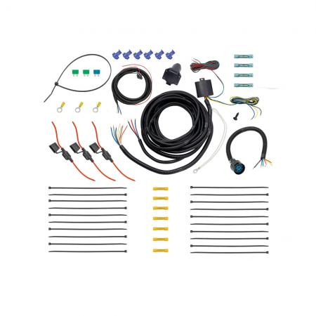 Tow Harness, 7-Way Complete Kit, Including ModuLiteHD Protector w/Backup and Brake Control Harness