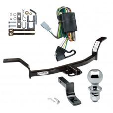 """Trailer Tow Hitch For 94-01 Acura Integra Complete Package w/ Wiring Draw Bar and 2"""" Ball"""