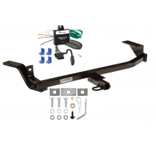 Trailer Tow Hitch For 97-05 Chevy Malibu 97-99 Oldsmobile Cutlass Trailer Tow Hitch w/ Wiring Kit