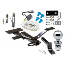 """Trailer Tow Hitch For 97-05 Buick Century 97-03 Pontiac Grand Prix Sedan Complete Package w/ Wiring Draw Bar and 2"""" Ball"""