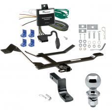 """Trailer Tow Hitch For 98-10 Volkswagen Beetle Golf Complete Package w/ Wiring Draw Bar and 2"""" Ball"""