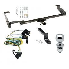 """Trailer Tow Hitch For 00-02 Ford Focus Wagon Before 11/2002 Complete Package w/ Wiring Draw Bar and 2"""" Ball"""