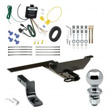 """Trailer Tow Hitch For 96-99 Infiniti I30 03 Nissan Maxima Sedan Complete Package w/ Wiring Draw Bar and 2"""" Ball"""