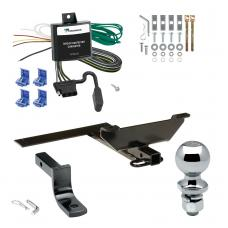 """Trailer Tow Hitch For 95-02 Nissan Maxima Sedan 00-04 Infiniti I30 I35 Complete Package w/ Wiring Draw Bar and 2"""" Ball"""