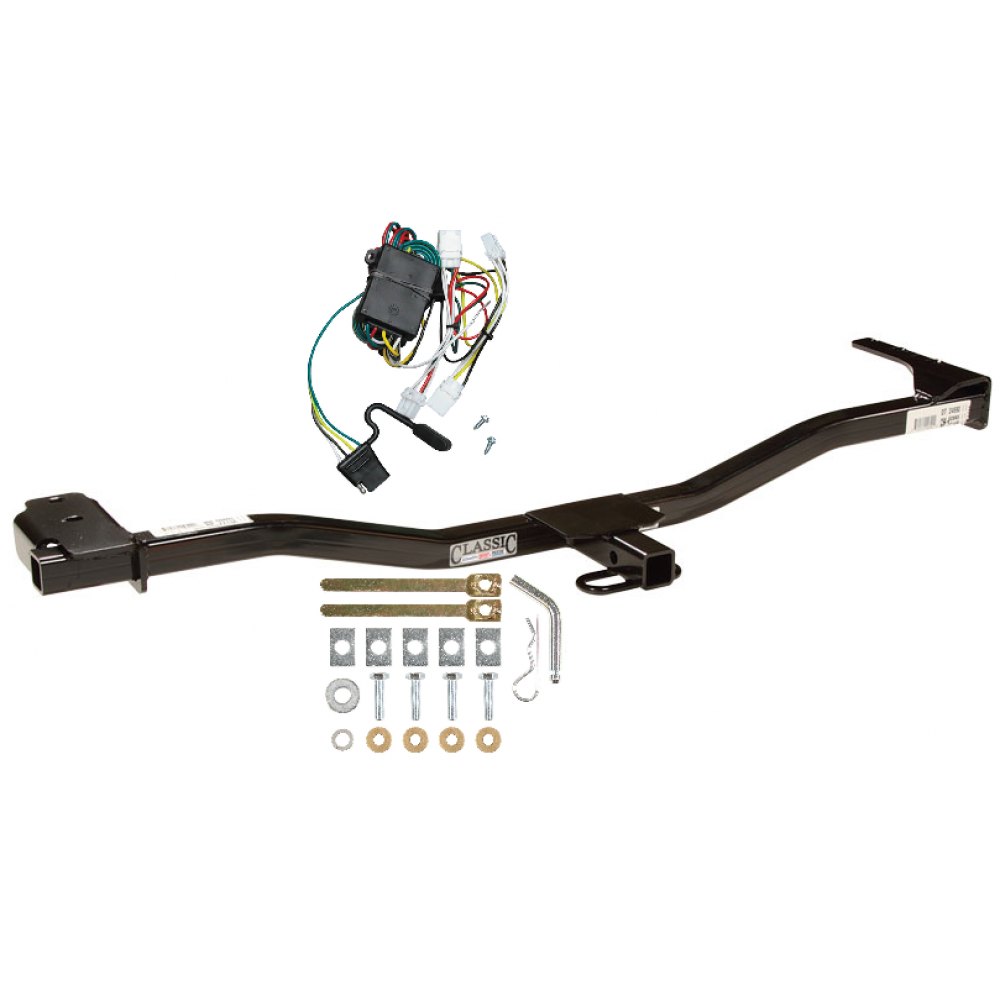 trailer tow hitch for 98 01 nissan altima w wiring kit. Black Bedroom Furniture Sets. Home Design Ideas