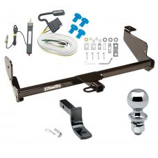 """Trailer Tow Hitch For 00-07 Ford Focus ZX5 Complete Package w/ Wiring Draw Bar and 2"""" Ball"""