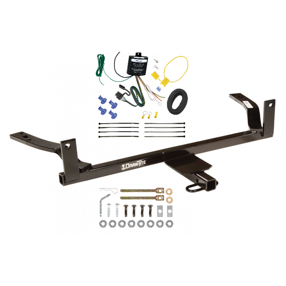 88 02 lincoln continental trailer tow hitch w wiring kit  lincoln ls trailer hitch wiring #14