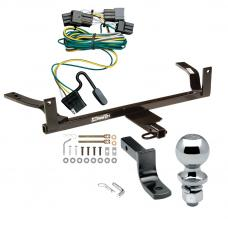 """Trailer Tow Hitch For 00-03 Ford Taurus Mercury Sable Sedan Complete Package w/ Wiring Draw Bar and 2"""" Ball"""