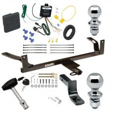 """Trailer Tow Hitch For 88-02 Lincoln Continental Deluxe Package Wiring 2"""" and 1-7/8"""" Ball and Lock"""