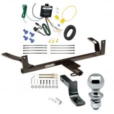 """Trailer Tow Hitch For 88-02 Lincoln Continental Complete Package w/ Wiring Draw Bar and 2"""" Ball"""
