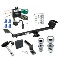 """Trailer Tow Hitch For 01-06 Chrysler Sebring Convertible Deluxe Package Wiring 2"""" and 1-7/8"""" Ball and Lock"""