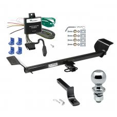"""Trailer Tow Hitch For 01-06 Chrysler Sebring Convertible Complete Package w/ Wiring Draw Bar and 2"""" Ball"""