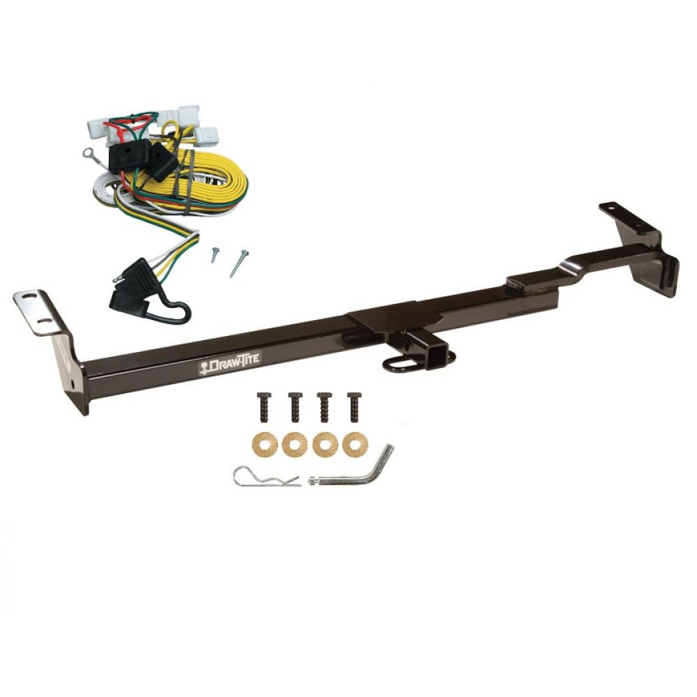 trailer tow hitch for 97-01 toyota camry trailer hitch tow receiver w/ wiring  harness kit