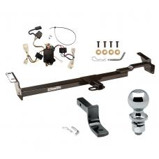 """Trailer Tow Hitch For 02-04 Toyota Camry 4 Dr. Sedan Complete Package w/ Wiring Draw Bar and 2"""" Ball"""