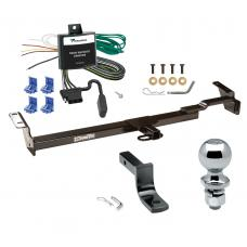 "Trailer Tow Hitch For 99-03 Toyota Solara Complete Package w/ Wiring Draw Bar and 2"" Ball"
