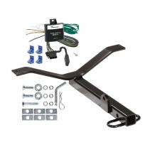 Trailer Tow Hitch For 02-06 Acura RSX Honda Civic Si Trailer Hitch Tow Receiver w/ Wiring Harness Kit