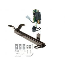 Trailer Tow Hitch For 03-04 Honda Element Trailer Hitch Tow Receiver w/ Wiring Harness Kit