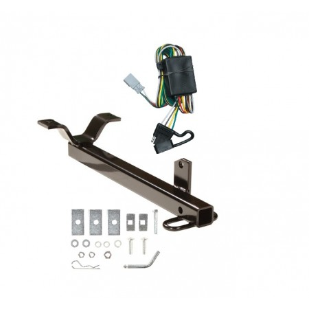 03-04 Honda Element Trailer Hitch Tow Receiver w/ Wiring Harness Kit