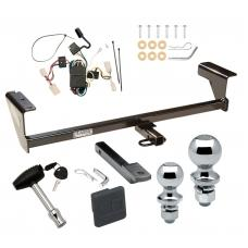 """Trailer Tow Hitch For 03-06 Mitsubishi Outlander Deluxe Package Wiring 2"""" and 1-7/8"""" Ball and Lock"""