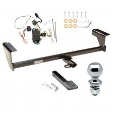 """Trailer Tow Hitch For 03-06 Mitsubishi Outlander Complete Package w/ Wiring Draw Bar and 2"""" Ball"""