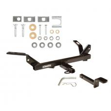 Trailer Tow Hitch For 95-05 Chevy Cavalier Pontiac Sunfire Receiver w/ Draw Bar Kit