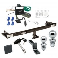"Trailer Tow Hitch For 05-06 Nissan X-Trail Canada Only Deluxe Package Wiring 2"" and 1-7/8"" Ball and Lock"