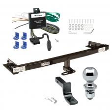 "Trailer Tow Hitch For 05-06 Nissan X-Trail Canada Only Complete Package w/ Wiring Draw Bar and 2"" Ball"