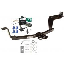Trailer Tow Hitch For  05-09 KIA Spectra Tow Receiver w/ Wiring Harness Kit