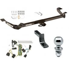"Trailer Tow Hitch For 05-10 Chevy Cobalt Except SS 05-06 Pontiac Pursuit Canada Only 4 Dr Complete Package w/ Wiring Draw Bar and 2"" Ball"