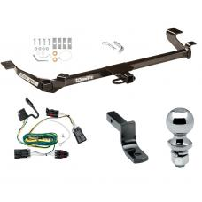 "Trailer Tow Hitch For 05-10 Chevy Cobalt Except SS 07-09 Pontiac G5 Except GT 05-06 Pursuit 2 Dr Complete Package w/ Wiring Draw Bar and 2"" Ball"
