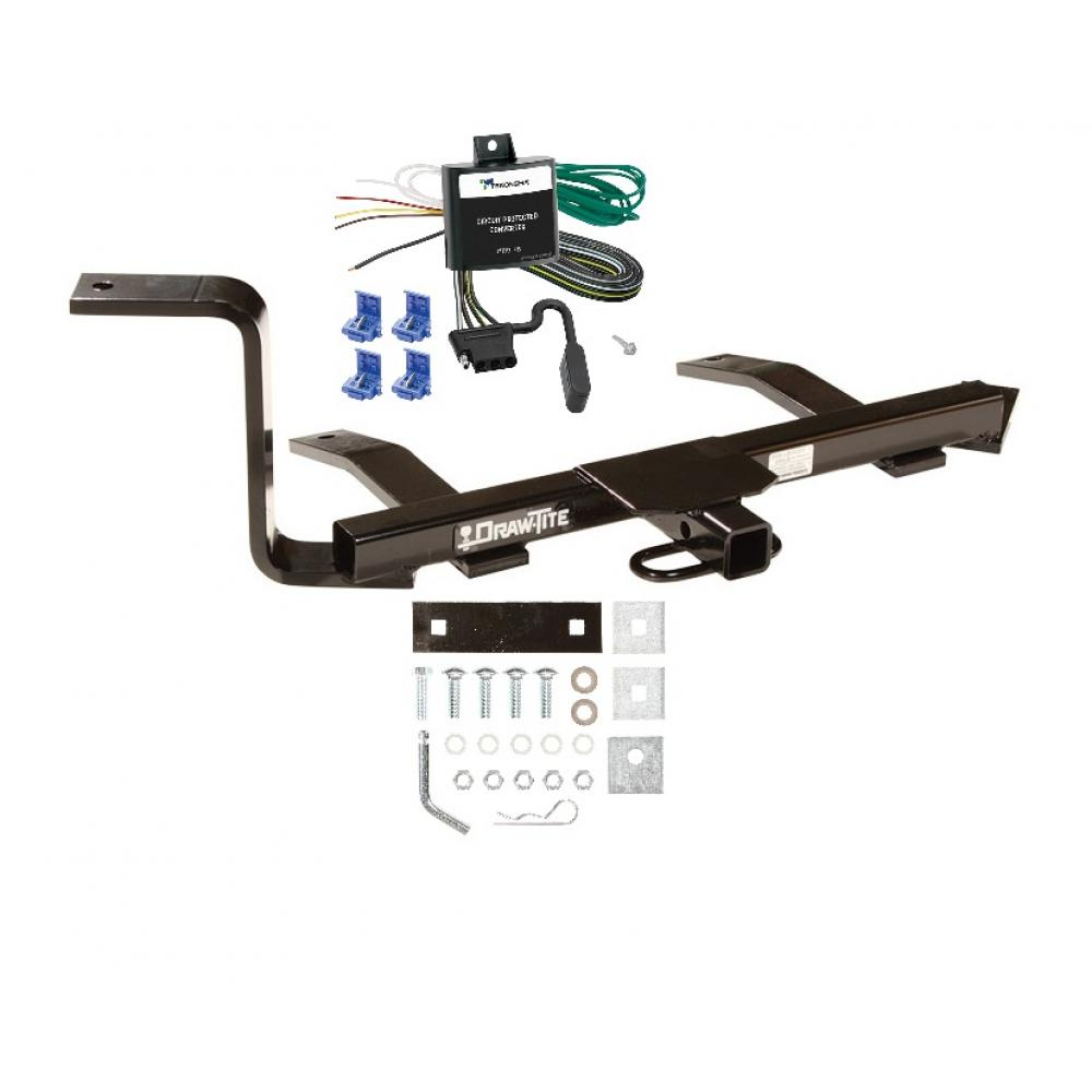 trailer tow hitch for 99-09 volkswagen jetta trailer hitch tow receiver w/  wiring harness kit