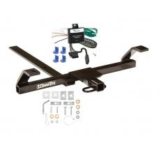 Trailer Tow Hitch For 00-02 Nissan Sentra Tow Receiver w/ Wiring Harness Kit