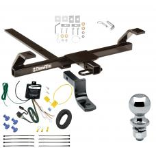 "Trailer Tow Hitch For 03-06 Nissan Sentra Complete Package w/ Wiring Draw Bar and 2"" Ball"