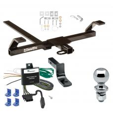 "Trailer Tow Hitch For 00-02 Nissan Sentra Complete Package w/ Wiring Draw Bar and 2"" Ball"