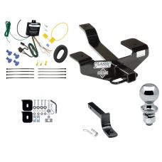 """Trailer Tow Hitch For 06-12 Mitsubishi Eclipse Complete Package w/ Wiring Draw Bar and 2"""" Ball"""