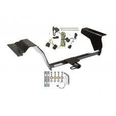 Trailer Tow Hitch For 05-10 Chevy Cobalt Trailer Hitch Tow Receiver w/ Wiring Harness Kit