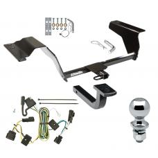 "Trailer Tow Hitch For 05-10 Chevy Cobalt SS 08 Sport 4 Dr Complete Package w/ Wiring Draw Bar and 2"" Ball"